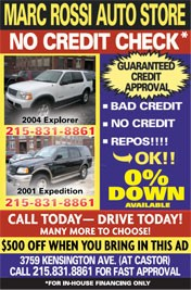 No Credit Check ad - More than 10 years!